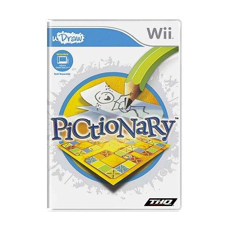 Jogo Pictionary - Wii