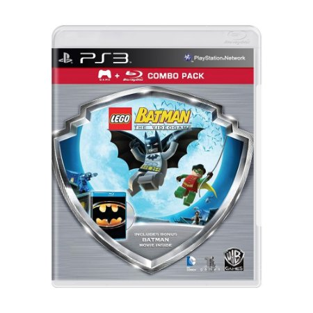 Jogo LEGO Batman The Videogame + Filme (Combo Pack) - PS3