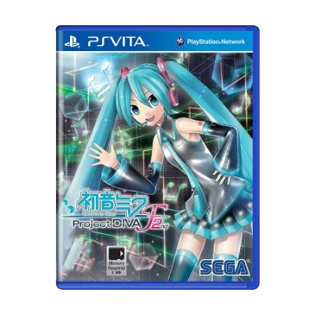 Jogo Hatsune Miku: Project DIVA F 2nd - PS Vita