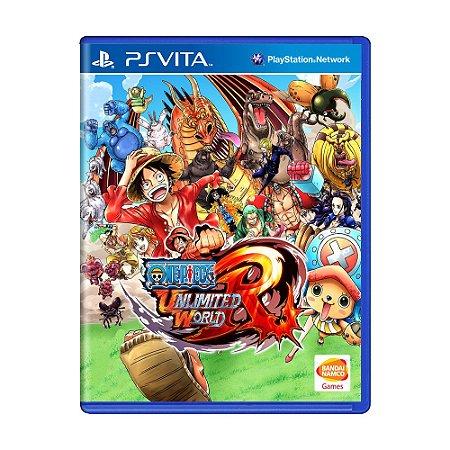 Jogo One Piece Unlimited World Red - PS Vita
