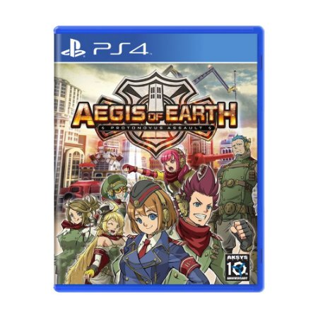 Jogo Aegis of Earth: Protonovus Assault - PS4