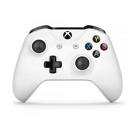 Controle Microsoft Branco - Xbox One