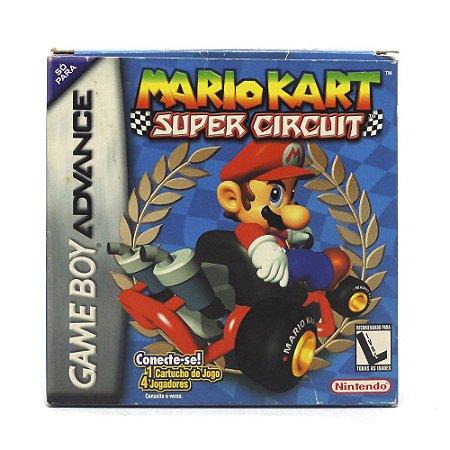 Jogo Mario Kart: Super Circuit - GBA