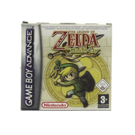 Jogo The Legend of Zelda: The Minish Cap - GBA (Europeu)