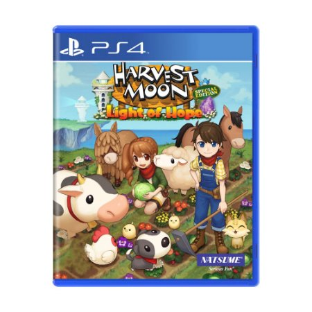 Jogo Harvest Moon: Light of Hope - PS4