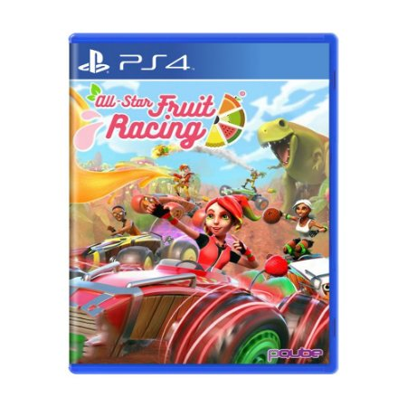 Jogo All-Star Fruit Racing - PS4