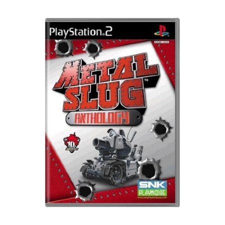Jogo Metal Slug Anthology - PS2