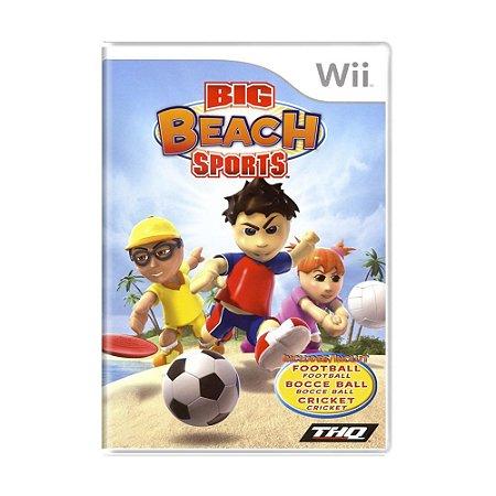 Jogo Big Beach Sports - Wii
