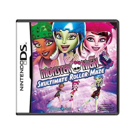 Jogo Monster High: Skultimate Roller Maze - DS