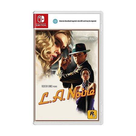 Jogo L.A. Noire - Switch