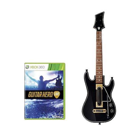 Jogo Guitar Hero: Live (Guitar Bundle) - Xbox 360