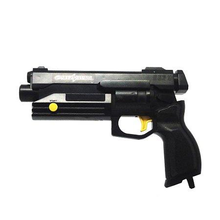 Controle Stunner Pistola preta - Sega Saturn