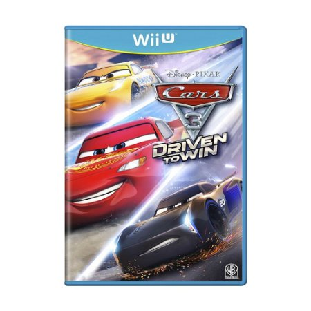Jogo Cars 3: Driven to Win - Wii U