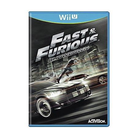 Jogo Fast & Furious: Showdown - Wii U