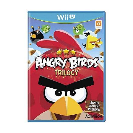 Jogo Angry Birds: Trilogy - Wii U