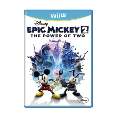 Jogo Disney Epic Mickey 2: The Power of Two - Wii U