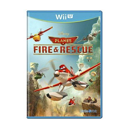 Jogo Disney Planes Fire & Rescue - Wii U