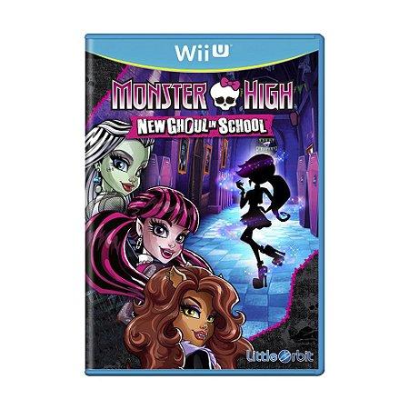 Jogo Monster High: New Ghoul in School - Wii U