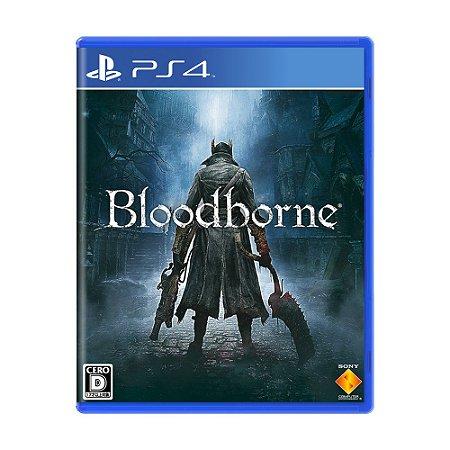 Jogo Bloodborne - PS4 (Japonês)