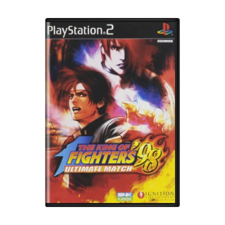 Jogo The King of Fighters '98: Ultimate Match - PS2