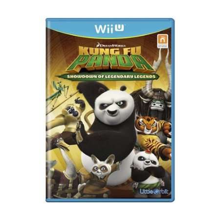 Jogo Kung Fu Panda: Showdown of Legendary Legends - Wii U