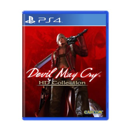 Jogo Devil May Cry: HD Collection - PS4