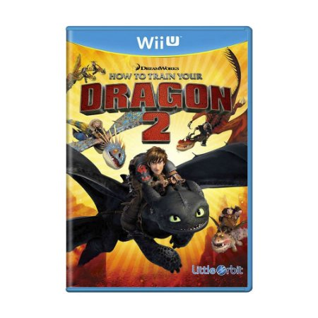 Jogo How to Train Your Dragon 2 - Wii U