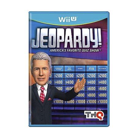 Jogo Jeopardy! - Wii U