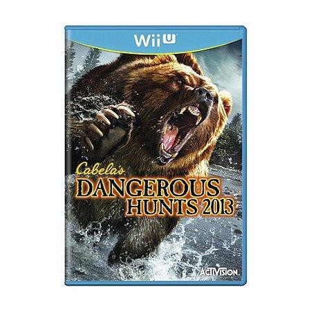 Jogo Cabela's Dangerous Hunts 2013 - Wii U