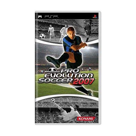 Jogo Pro Evolution Soccer 2007 - PSP