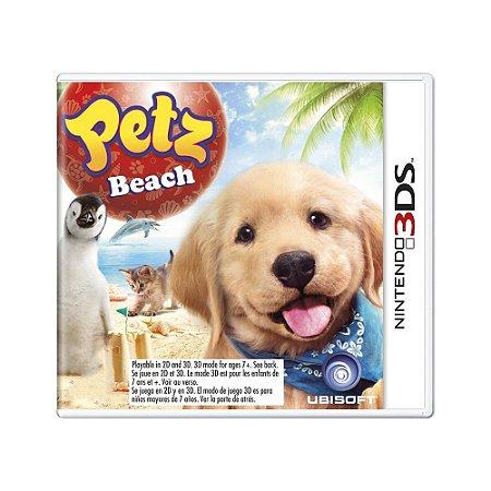 Jogo Petz Beach - 3DS