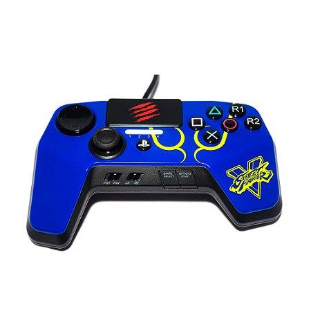 Fightpad Madcatz Pro Street Fighter V - PS4 e PS3