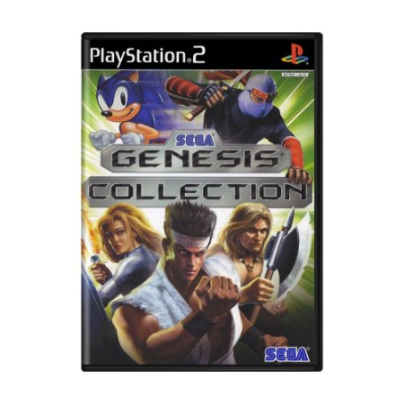 Jogo Sega Genesis Collection - PS2