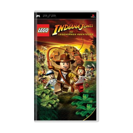 Jogo LEGO Indiana Jones: The Original Adventures - PSP