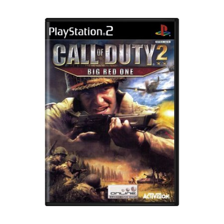 Jogo Call of Duty 2: Big Red One - PS2