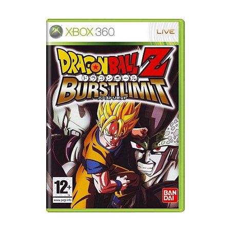 Jogo Dragon Ball Z: Burst Limit - Xbox 360 (Europeu)