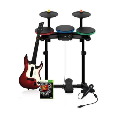 Jogo Guitar Hero: Warriors of Rock (Complete Bundle) - Xbox 360