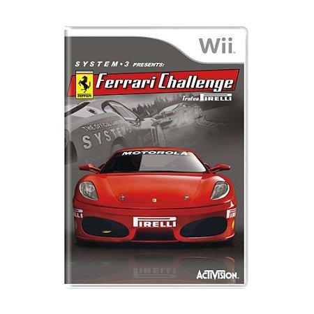 Jogo Ferrari Challenge Trofeo Pirelli - Wii