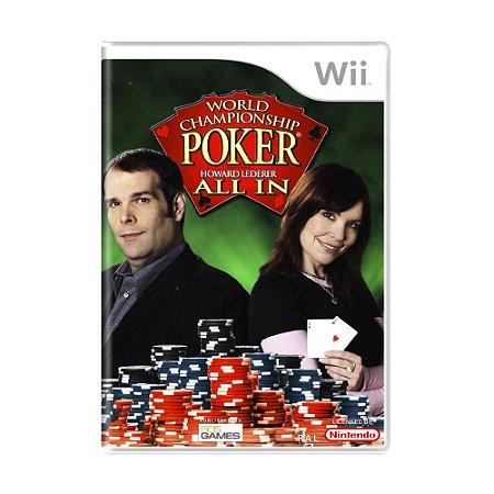 Jogo World Championship Poker: Featuring Howard Lederer All In - Wii