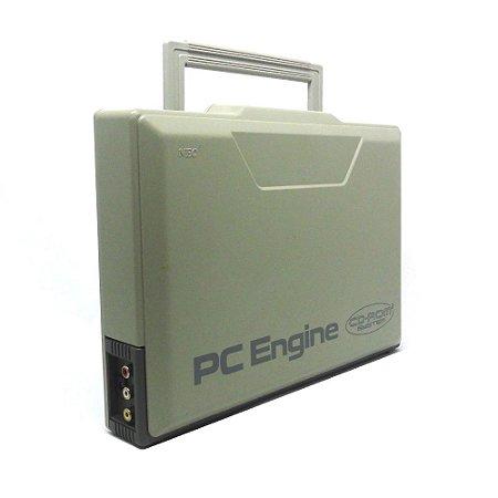 Console PC Engine com Interface Unit - NEC Corporation (Japonês)