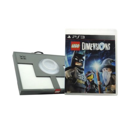 Jogo Lego Dimensions + Plataforma LEGO - PS3