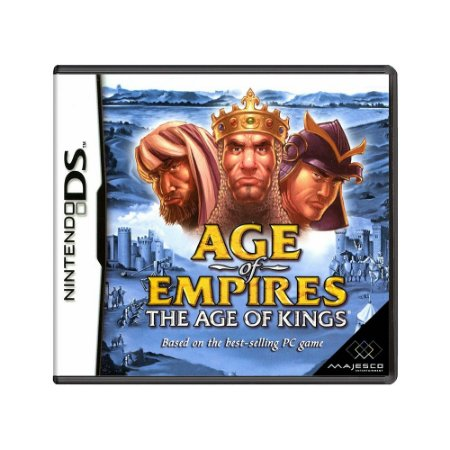 Jogo Age of Empires The Age Of Kings - DS