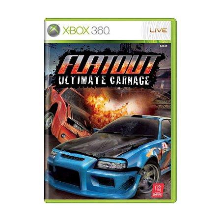 Jogo Flatout: Ultimate Carnage - Xbox 360