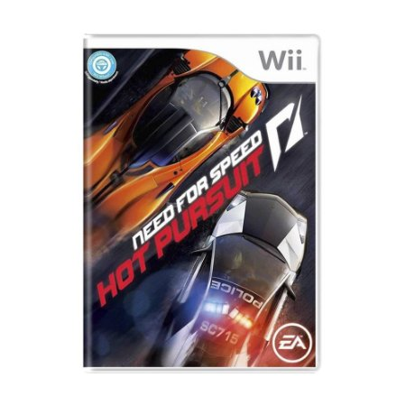 Jogo Need for Speed: Hot Pursuit - Wii