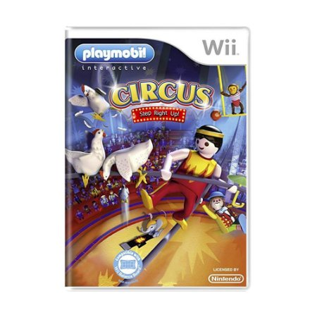 Jogo Playmobil Circus: Step Right Up! - Wii