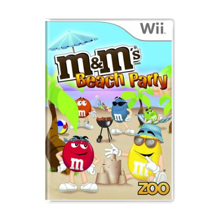 Jogo M&M's Beach Party - Wii