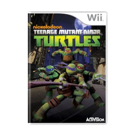 Jogo Teenage Mutant Ninja Turtles - Wii