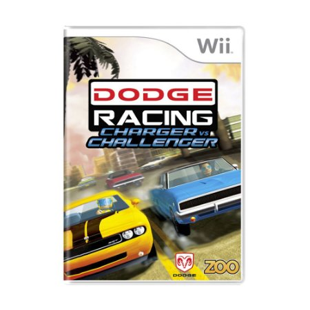 Jogo Dodge Racing: Charger vs Challenger - Wii