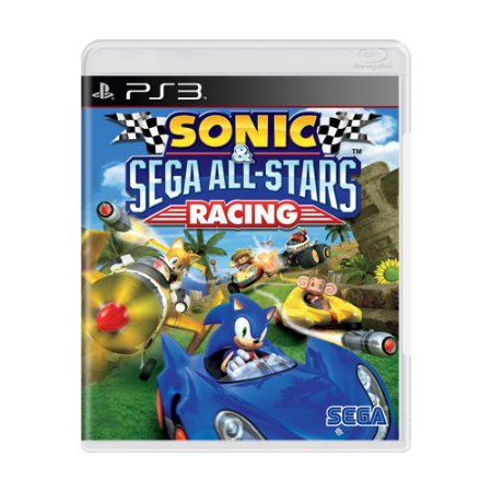 Jogo Sonic & Sega All-Stars Racing - PS3