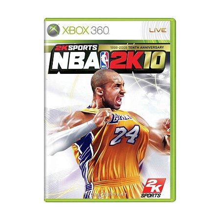 Jogo NBA 2K10 - Xbox 360
